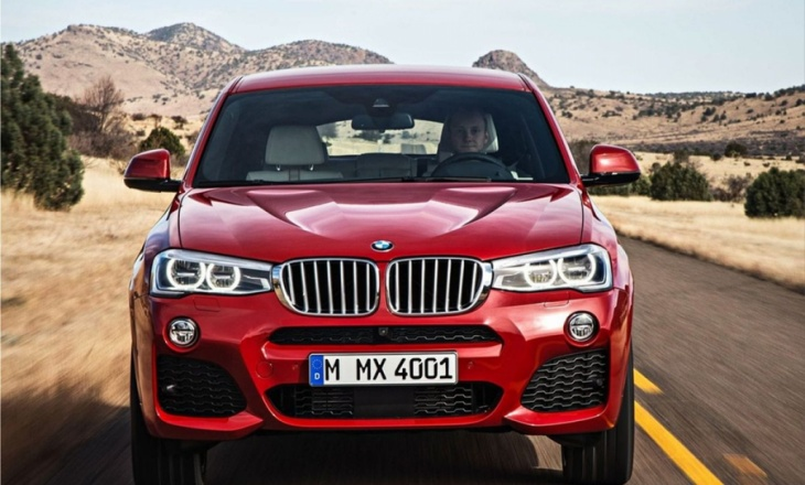 The new BMW X4 SUV unveiled
