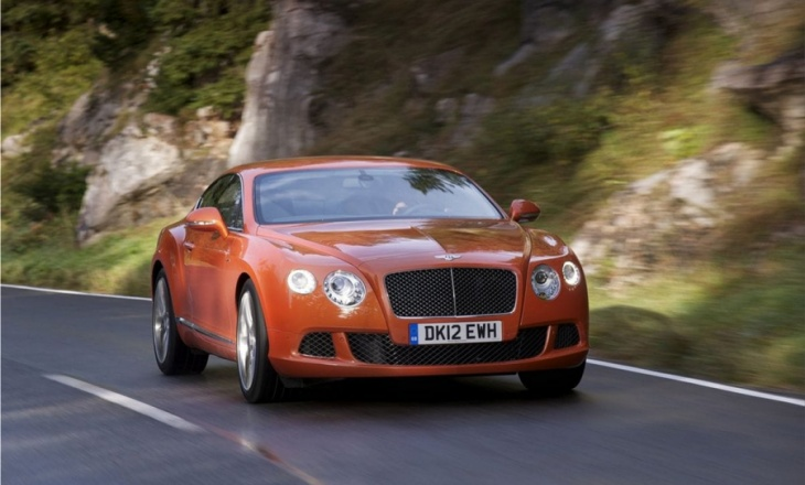 The fastest Bentley ever - Bentley Continental GT Speed