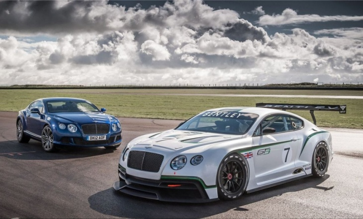 Bentley Continental GT3 Concept Racer luxury grand tourer