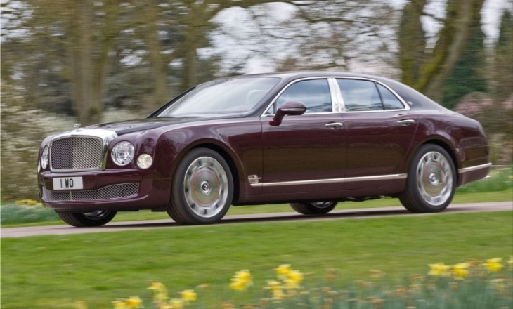 2012 Bentley Mulsanne Diamond Jubilee true to the Mulliner tradition