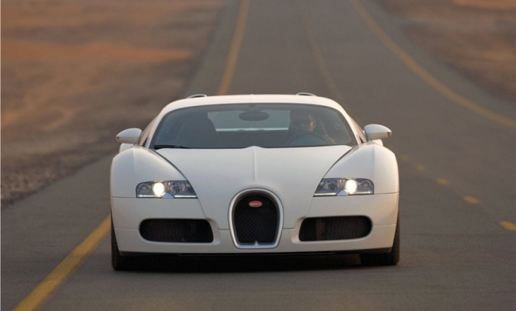 Bugatti Veyron top end automotive technology