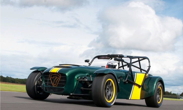 Caterham R600 Superlight race car