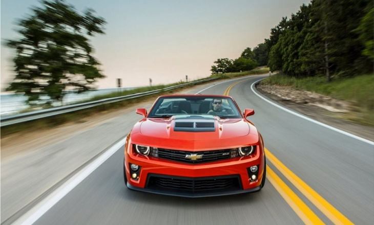Chevrolet Camaro ZL1 Convertible the most powerful and most capable