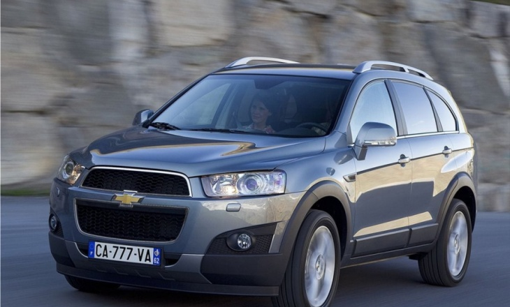 Chevrolet Captiva beautiful and functional mid-size crossover SUV