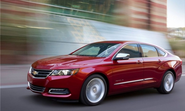 The all-new 2014 Chevrolet Impala redesigned sedan