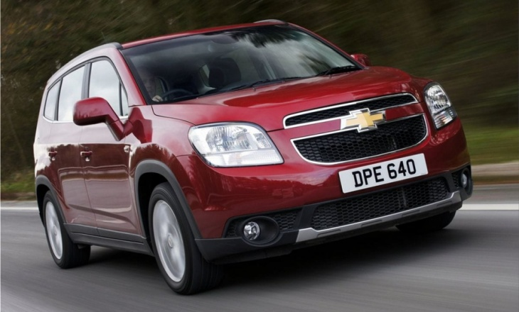 Chevrolet Orlando is essentially conventional