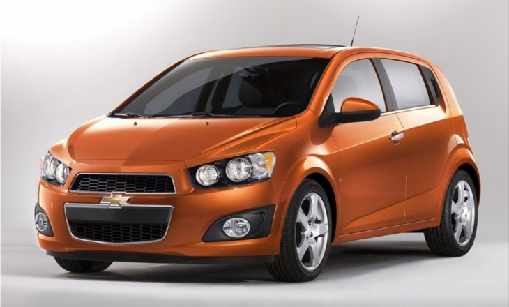 Chevrolet Sonic fun-to-drive small car