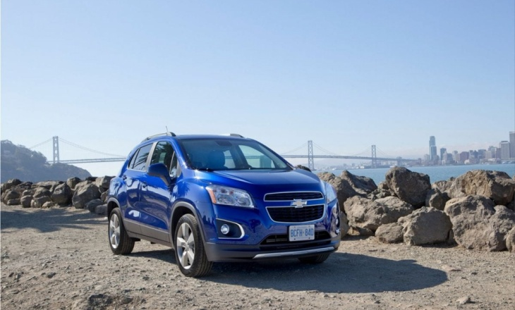 Chevrolet Trax with true off-road capability