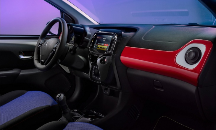 The new sparkling and colorful Citroen C1 JCC + Special Edition