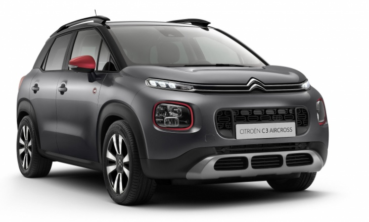 Citroen C5 Aircross C-Series limited-edition version