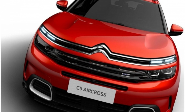 Citroen C5 Aircross SUV for Europe
