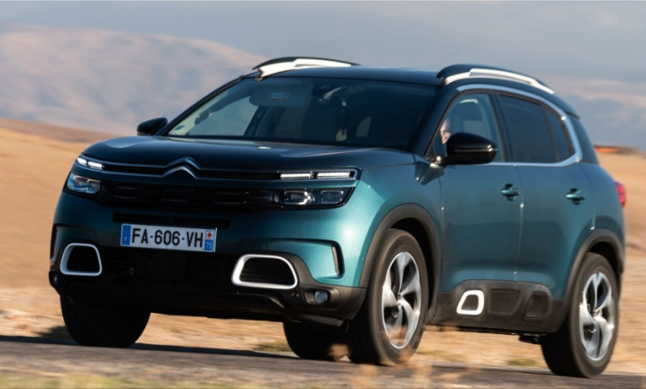 Citroën C5 Aircross SUV: already 100,000 sales