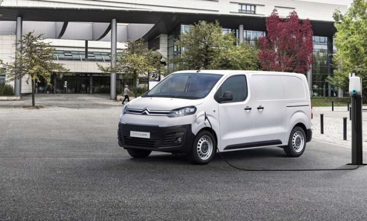 Citroën presents the ë-Jumpy: up to 300 kilometers of autonomy