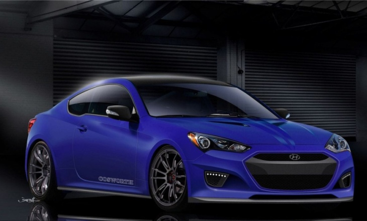 Cosworth Hyundai Genesis Coupe