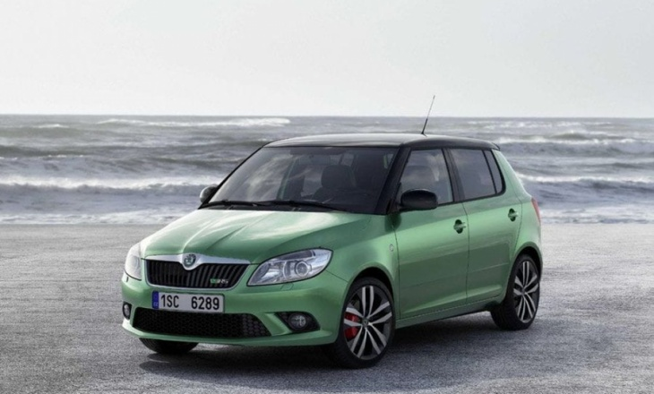 The new Fabia vRS hatch and estate