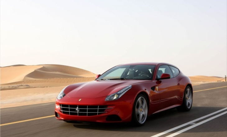 Ferrari FF a four-wheel drive four-seater