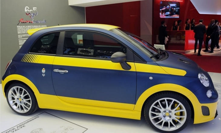 Fiat 500 Abarth Fuori at the Paris Motor Show