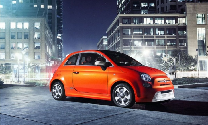 The all-new battery-electric Fiat 500e