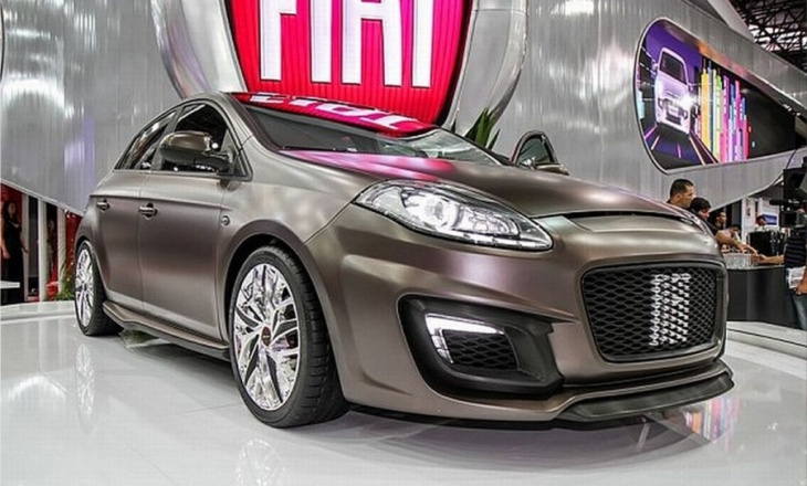 Fiat Bravo Xtreme concept for Sao Paulo Motor Show