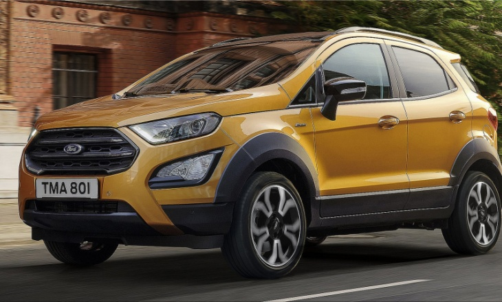 "The new Ford Ecosport in now ""Active"""