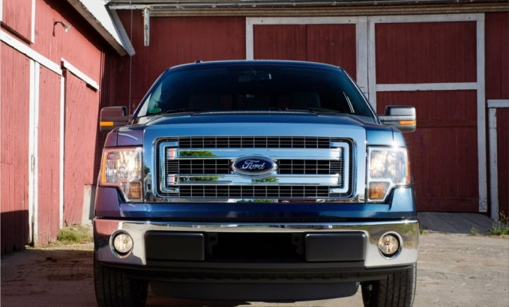 Ford F-150 the best-selling line of pickups in America