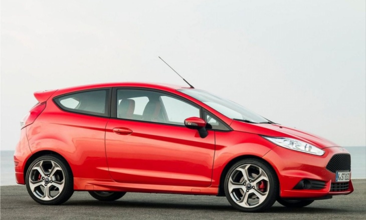 Ford Fiesta ST with a 1.6-litre EcoBoost petrol engine