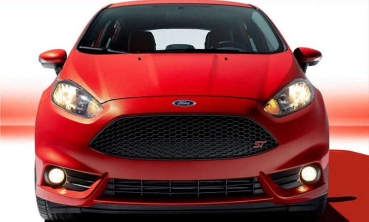 Ford Fiesta ST with 200hp at L.A. Auto Show