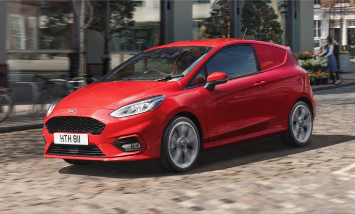 Ford Fiesta Van EcoBoost Hybrid offers superior engine performance and excellent fuel economy