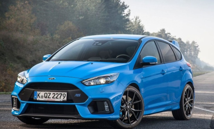 Ford Focus RS with 2.3-litre EcoBoost