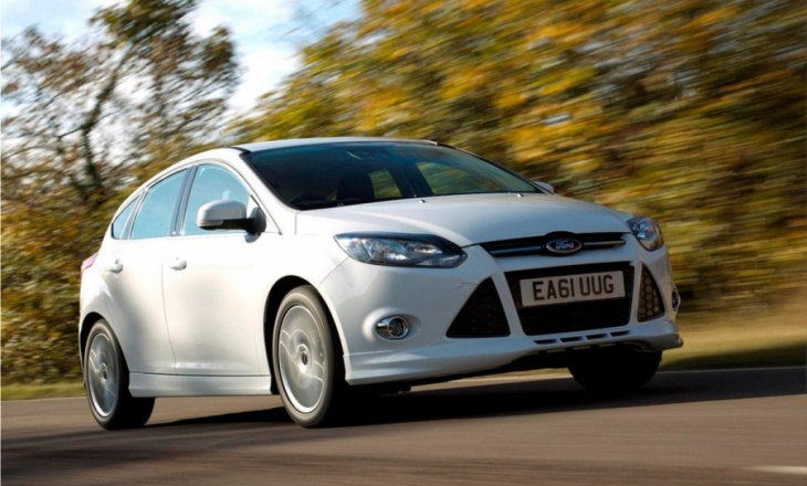 Ford Focus Zetec S sporty styling