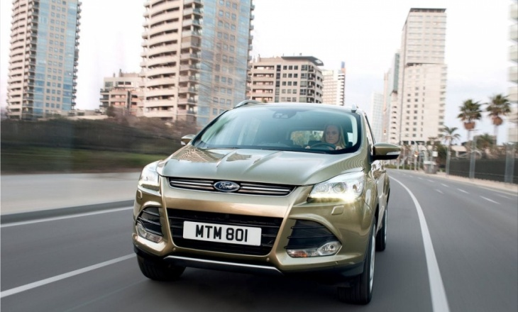 2013 Ford Kuga spacious, dynamic