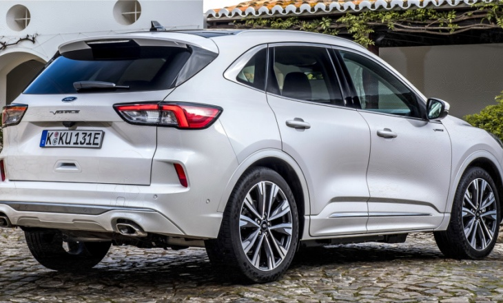 The new Ford Kuga is praised by Euro NCAP