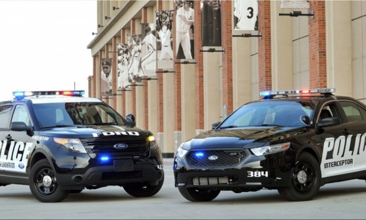 Ford's new Police Interceptors in Michigan