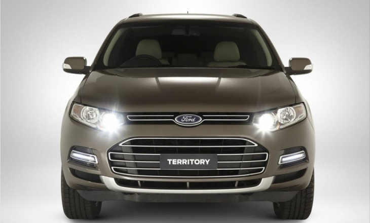 Ford Territory kinetic design