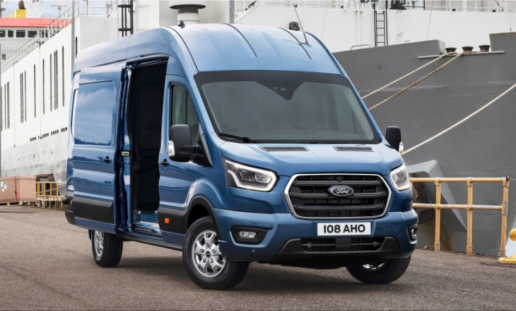 Ford Transit 2T with a new 10-speed automatic transmission