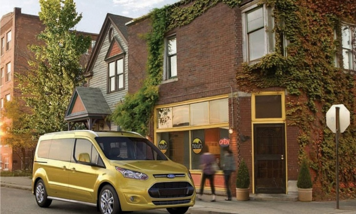 Ford Transit Connect Wagon drives like a car