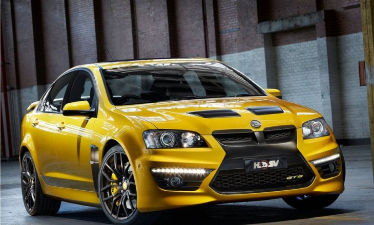 HSV GTS limited edition for the 25th Anniversary