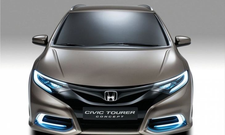 Honda Civic Tourer Concept from Geneva