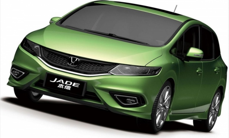 Honda Jade for Chinese customers