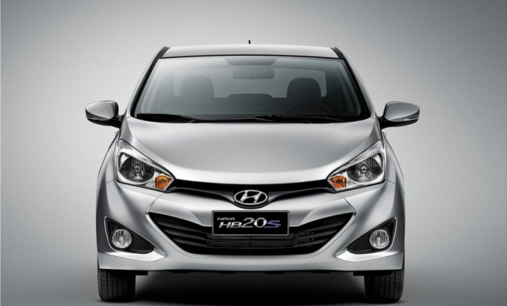 Hyundai sedan HB20S for Brazil