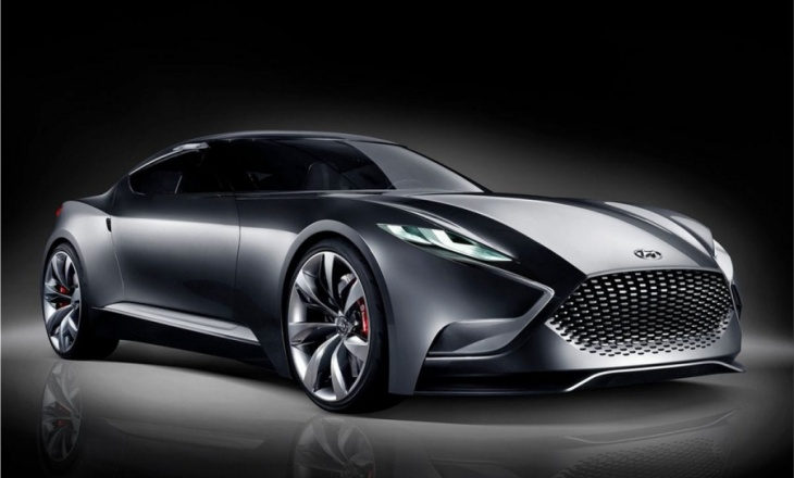 Hyundai HND-9 luxury sports coupe