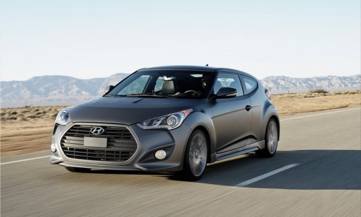 2013 Hyundai Veloster Turbo with 201 horsepower