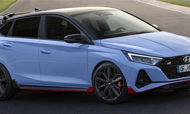 The new Hyundai i20 N small class hot-hatch