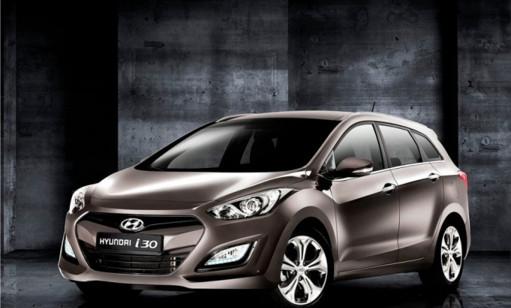 2013 Hyundai i30 Wagon visually-appealing