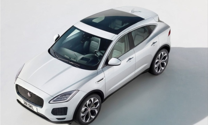 Jaguar E-Pace for  the Chinese market