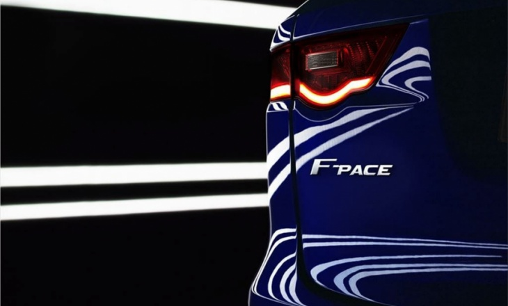 The C-X17 comes true as Jaguar F-Pace