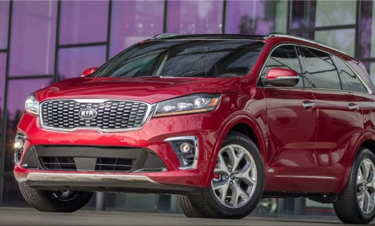 2019 Kia Sorento available from $25,990