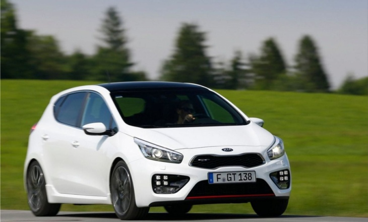 Kia Pro Ceed GT and Kia Ceed GT - style, performance and dynamism