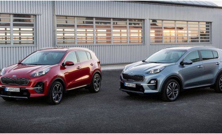 Kia Sportage - fourth generation