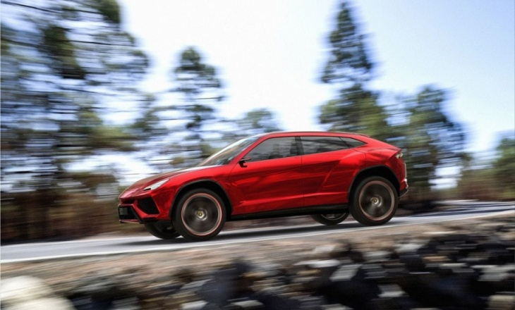 Lamborghini Urus Concept - the ultimate super athlete